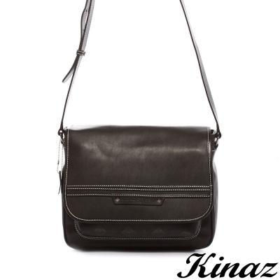 KINAZ-navy-都會生活斜背包-巴特曼系列-特賣品