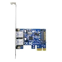 伽利略 PCI-E USB 3.0 2 Port 擴充卡