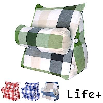 Life Plus 簡單生活舒壓萬用靠枕/抱枕/腰靠枕 (多色任選)