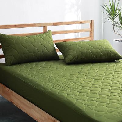 美夢元素 全防水專業級-保潔枕頭套二入〈 軍綠 〉