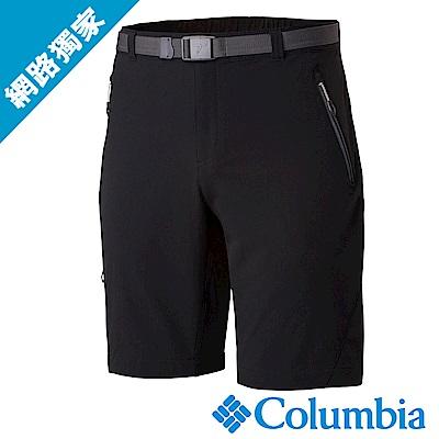 Columbia 哥倫比亞 男款- 防曬50防潑短褲-深灰 UAE15800DY