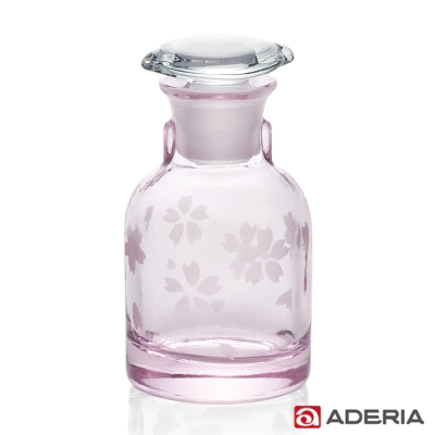 ADERIA 日本進口櫻花玻璃醬油罐80ml