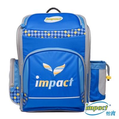 IMPACT 怡寶標準型舒適護脊書包-寶藍IM00137RB