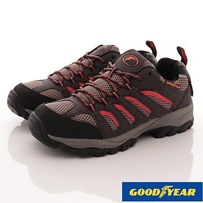 GOODYEAR-郊山徒步戶外鞋-SE3503咖紅(男段)