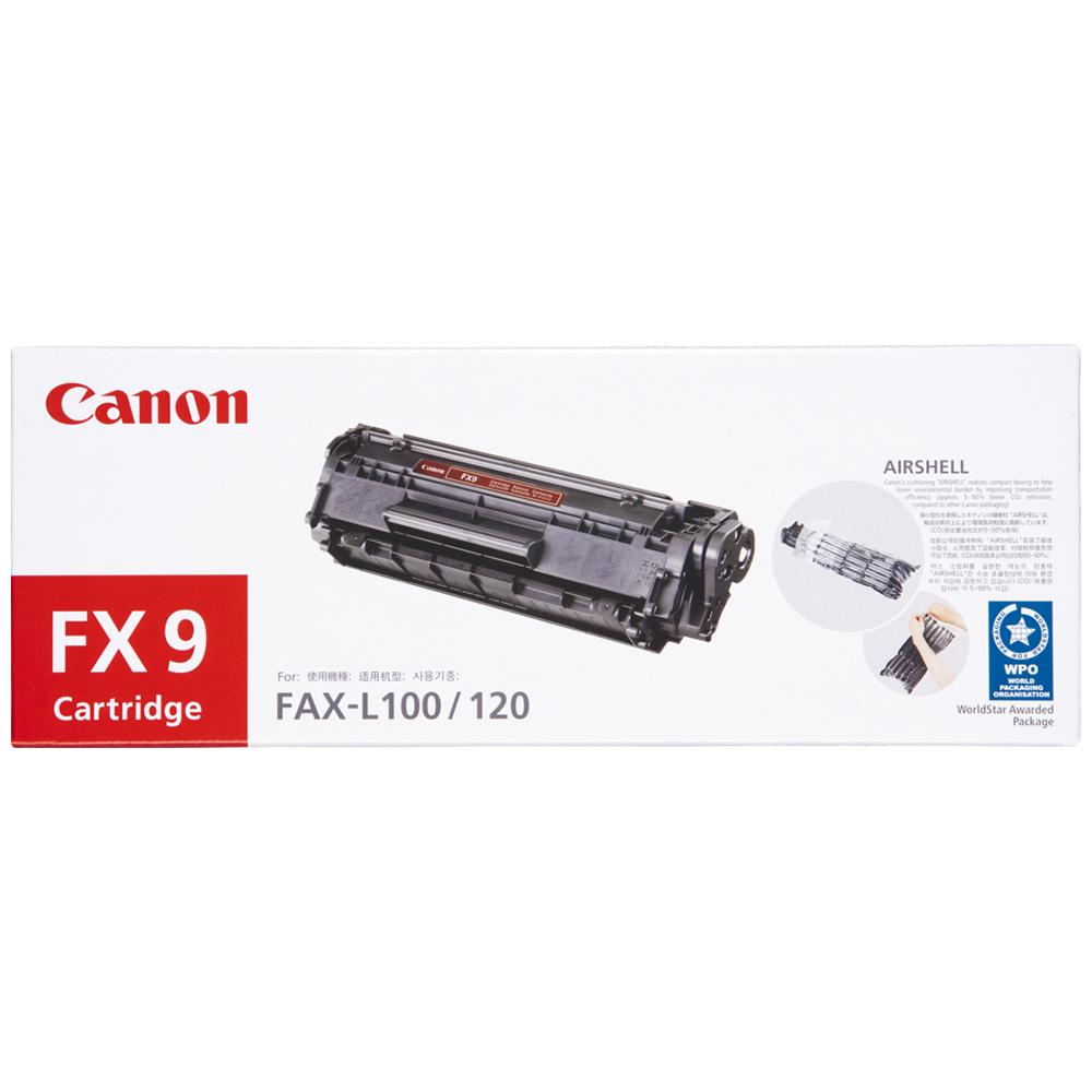CANON FX-9 原廠黑色碳粉匣