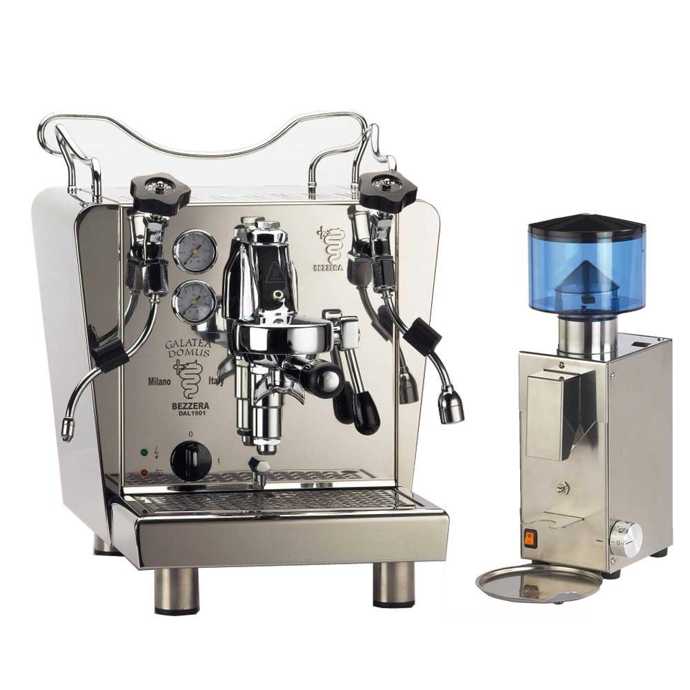 BEZZERA GALATEA DOMUS 雷廷玩家級咖啡機+BB005 AT 錐刀磨豆機