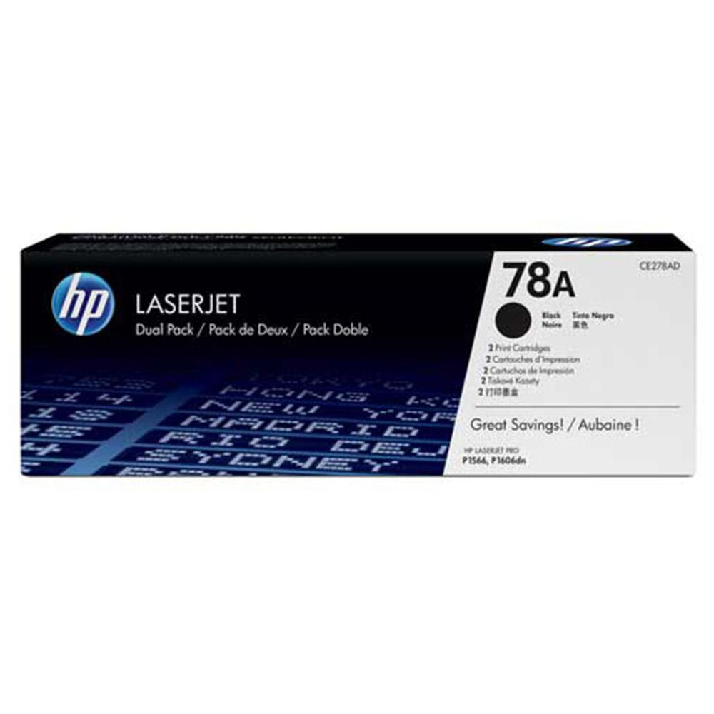 【惠普HP】CE278A NO.78A 黑色 原廠碳粉匣