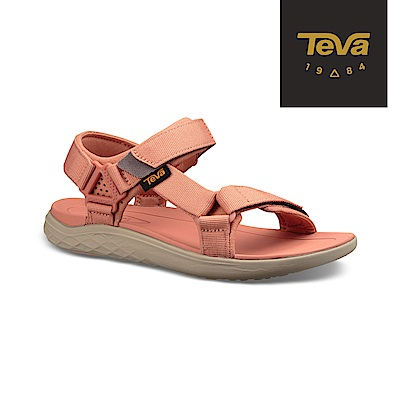 【TEVA】原廠貨 女 Terra-Float 2 輕量運動涼鞋/雨鞋/水鞋(珊瑚橘-TV1091333CSND)