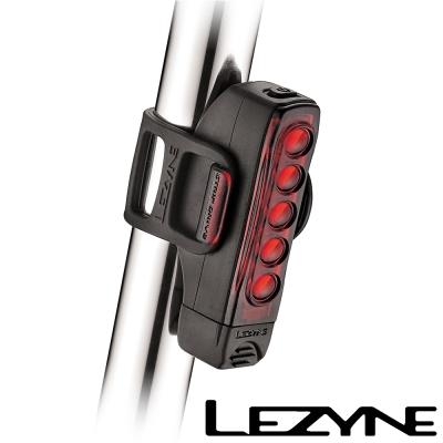 LEZYNE STRIP DRIVE USB充電光學透鏡LED警示尾燈(黑)