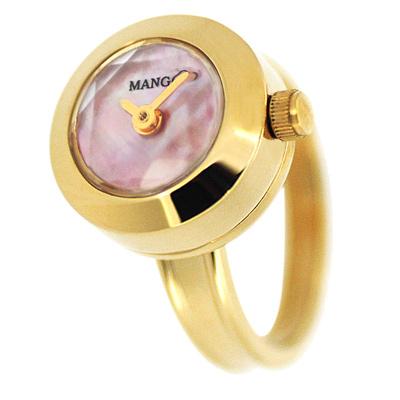 MANGO 星光閃爍淑女戒指錶(MA1004A-11K)-15mm