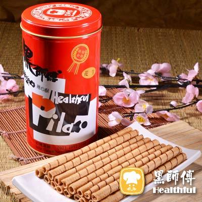 黑師傅捲心酥 12罐 (400g/罐)
