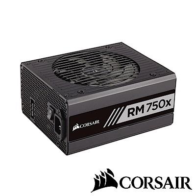 CORSAIR海盜船 RM750x 80Plus金牌 電源供應器