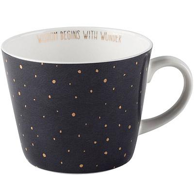 CreativeTops Earlstree燙金骨瓷馬克杯(星空黑450ml)