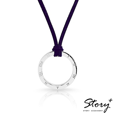 STORY故事銀飾-填言密語 純銀項鍊