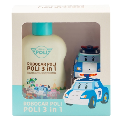 Poli波力-波力兒童3合1潔淨乳(300ml)