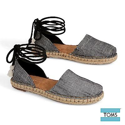 TOMS 優雅丹寧綁帶休閒鞋-女款