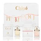 Chloe克羅埃 愛情故事小小雙氛緞帶限量禮盒(愛情故事+日落巴黎)香精20ml