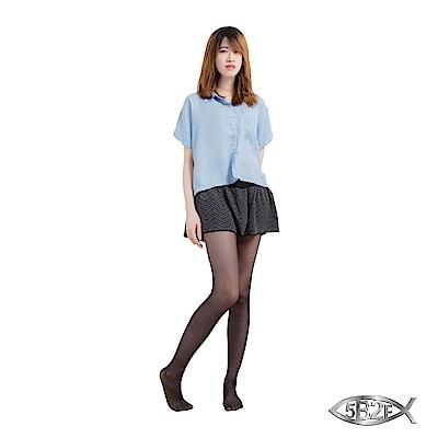 5B2F 五餅二魚 花瓣裙襬短褲(山形紋)