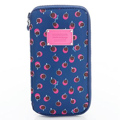VOVAROVA空氣包-環遊世界護照夾-我的小蘋果(富士紅)-法國設計系列