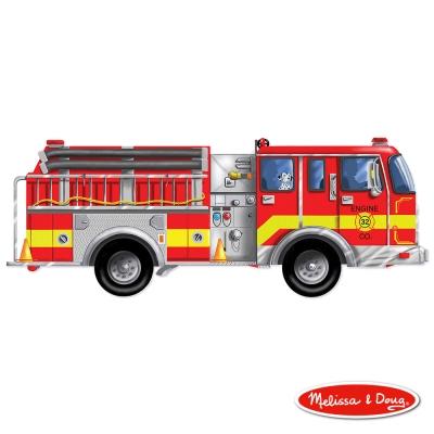 (益智任選) 大型地板拼圖 - 巨型消防車 24片 原價449
