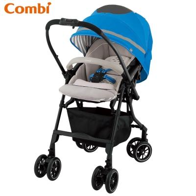 Combi Handy Auto 4 Cas嬰兒手推車-輕舞藍