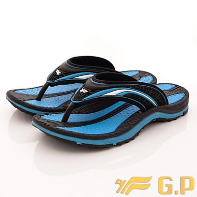 GP時尚涼拖-經典夾腳拖鞋款-FI820W-22藍(女段)