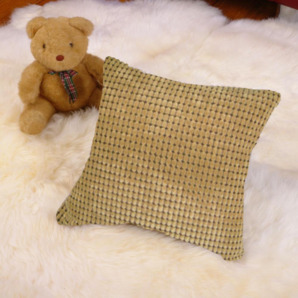 范登伯格 -  典鑽 時尚雙面抱枕 (棕) (45x45cm)