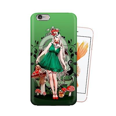 張小白 iPhone 6S / 6 4.7吋 古典奇幻插畫 滿版空壓保護殼(孤單...