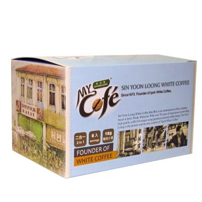 買2送2 新源隆怡保白咖啡二合一(6入/盒)
