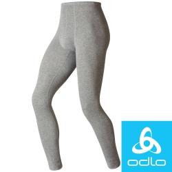 瑞士Odlo 152042 男銀離子保暖排汗衛生褲 (麻灰)