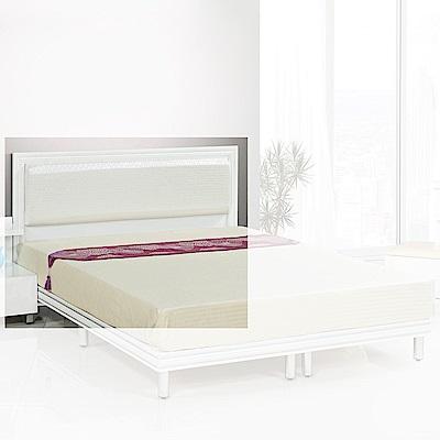 H&D 珍珠白3.5尺床片 (寬108X深6X高93cm)