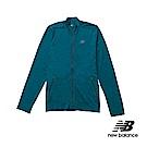 New Balance Seamless立領外套 MJ63015CSY 男性 藍綠