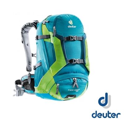 【德國 Deuter】Trans Alpine 25 自行車網架透氣背包_湖綠/綠