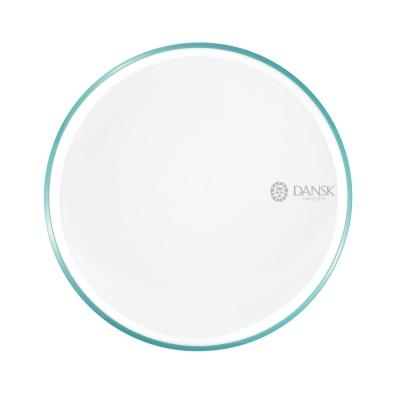 DANSK 陶瓷材質餐盤21cm-(藍綠色)