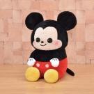 日版 Disney迪士尼 米老鼠 坐姿米奇 絨毛娃娃