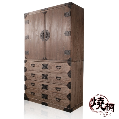 燒桐-雋臻傳世-絕品簞笥衣櫃(職人手工)
