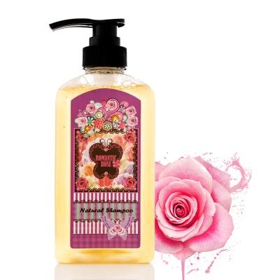 Romantic Rose 玫瑰精華洗髮凝膠450mlX2