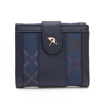 Arnold Palmer- 中翻短夾 Bag&Bear B & B 系列-藍色