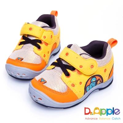 Dr. Apple 機能童鞋 美味乳酪與貪吃老鼠俏皮小童鞋款 橘
