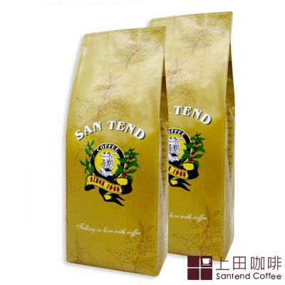 《上田》綜合熱咖啡豆(半磅* 2 入/共 450 g)