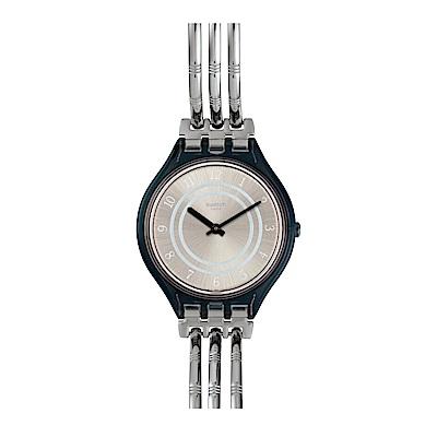 Swatch SKIN超薄系列 SKINBAR L 超薄手環手錶