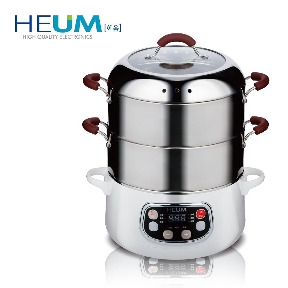 韓國HEUM饗鮮多功能電蒸火鍋HU-RK1288三層