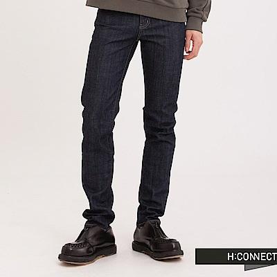 H:CONNECT 韓國品牌 男裝 - 經典原色彈性牛仔褲 - 藍