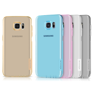 NILLKIN SAMSUNG Galaxy S7 Edge 本色軟套