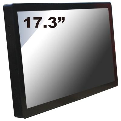 Nextech P系列 17.3吋-室外型 電容觸控螢幕(前防水+高亮度)