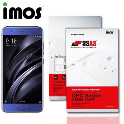 iMOS 小米 6 3SAS 防潑水 防指紋 疏油疏水 螢幕保護貼