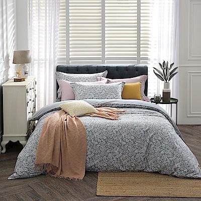 BBL純淨香草100%精梳棉.印花特大兩用被床包組