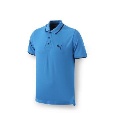 PUMA 男性基本系列Hero短袖POLO衫-法國藍