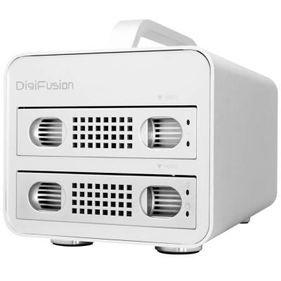 伽利略 USB3.0 2層式抽取式 鋁合金 硬碟外接盒