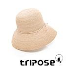 tripose 經典優雅-100%手工Raffia時尚遮陽草帽-帽簷-10cm(自然色)